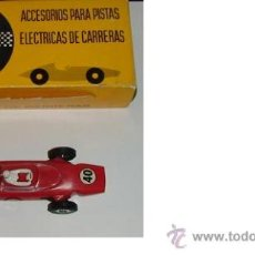 Juguetes antiguos: COCHE DE CARRERAS FERRARI F 1 FABRICO EN ESPAÑA JOUEF COLOR ROJO. Lote 38103197