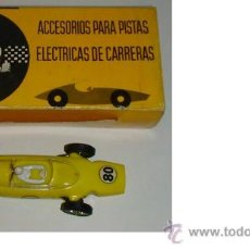 Juguetes antiguos - COCHE DE CARRERAS FERRARI F 1 FABRICO EN ESPAÑA JOUEF COLOR AMARILLO - 38103217