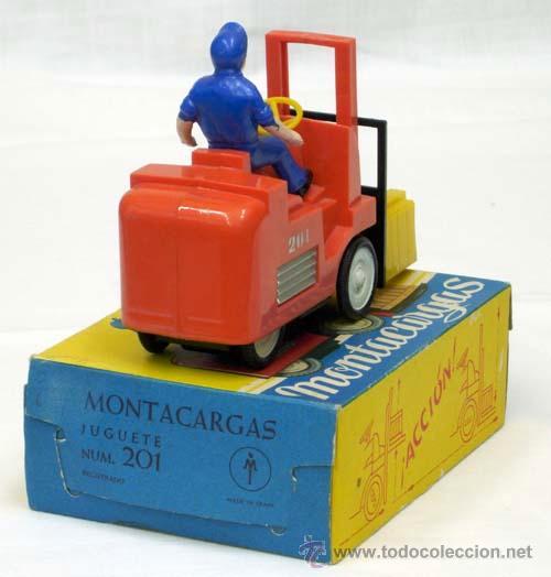 Juguetes antiguos: Montacargas Mecanica Ibense años 60 - Foto 4 - 12188985