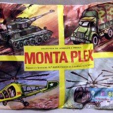 Juguetes antiguos: MONTAPLEX SOBRE 4 EN 1 TANQUE PANZER CAMION AFRICA KORPS HELICOPTEROS. Lote 61528911