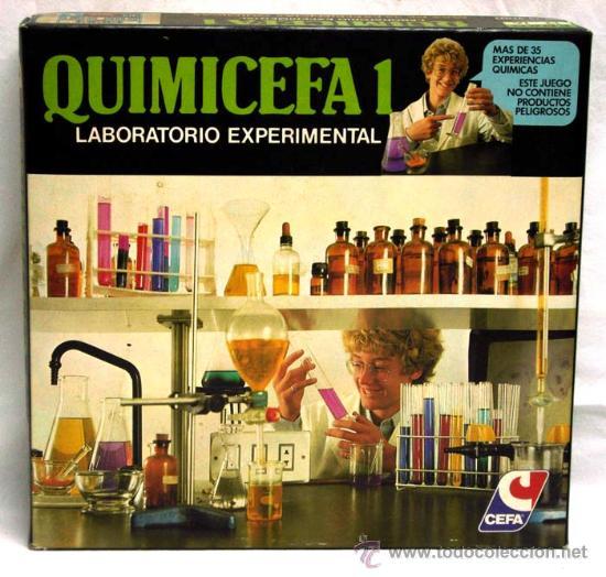 QUIMICEFA 1 LABORATORIO EXPERIMENTAL DE CEFA (Juguetes - Marcas Clasicas - Otras Marcas)