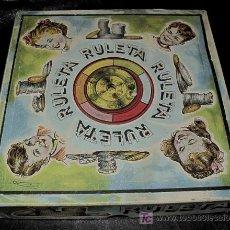 Juguetes antiguos: JUEGO DE LA RULETA. JUGUETES BORRAS. AÑOS 50-60. Lote 24347838
