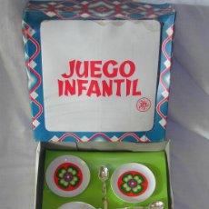 Juguetes antiguos: ANTIGUA VAJILLA DE CEFA - CON CAJA.. Lote 27183861