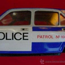 Juguetes antiguos: COCHE SEAT 132 POLICIA. Lote 17720100