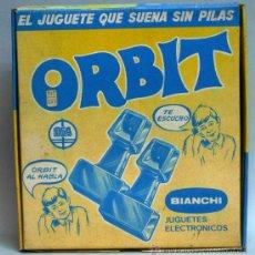 Juguetes antiguos: WALKIE TALKIE TELEFONOS ORBIT BIANCHI AÑOS 70. Lote 24086194