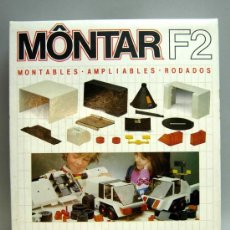 Juguetes antiguos: MONTAR F2 FEBER AÑOS 80 JUEGO CONSTRUCCIÓN. Lote 27464006
