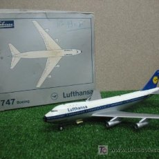 Juguetes antiguos: (SCHUCO) AVION DE LUFTHANSA ----- BOEING 747. Lote 21852367