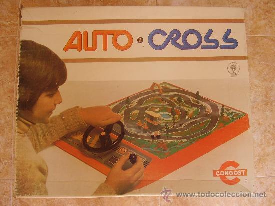 AUTO CROSS DE CONGOST (1.975). AUTOCROSS. AUTO-CROSS (Juguetes - Marcas Clasicas - Otras Marcas)