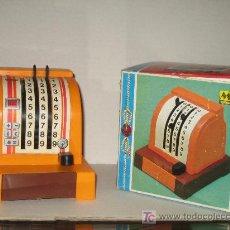 Juguetes antiguos: MOLTO - CAJA REGISTRADORA - CON SU CAJA. Lote 21233568
