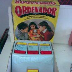 Juguetes antiguos: ORDENADOR AIRGAM CON CAJA. AÑOS 60/70. Lote 27070770