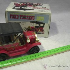 Juguetes antiguos: JUGUETE JAPONÉS. MADE IN JAPAN. COCHE FORD TOURING 1909. FABRICADO POR T.T. . Lote 27545335