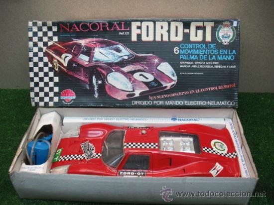 (NACORAL) FORD GT ELECTRICO CON MANDO (Juguetes - Marcas Clasicas - Otras Marcas)