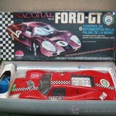 Juguetes antiguos: (NACORAL) FORD GT ELECTRICO CON MANDO. Lote 22403279