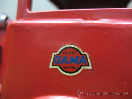 Juguetes antiguos: GAMA Ref: 2621 - CAMION DE BOMBEROS A FRICCION - Foto 2 - 22996379