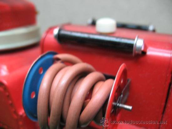 Juguetes antiguos: GAMA Ref: 2621 - CAMION DE BOMBEROS A FRICCION - Foto 11 - 22996379