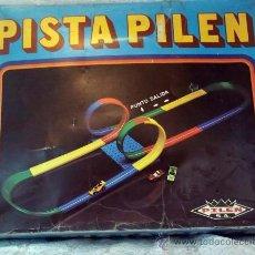 Juguetes antiguos: PISTA PILEN SIN COCHES PARA PIEZAS. Lote 23181874