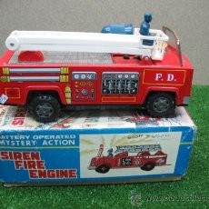 Juguetes antiguos: CAMION BOMBEROS ELECTRONICO. Lote 23375545