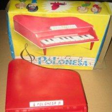 Juguetes antiguos: GUILLEM - PIANO DE COLA POLONESA CON SU CAJA-. Lote 23804502