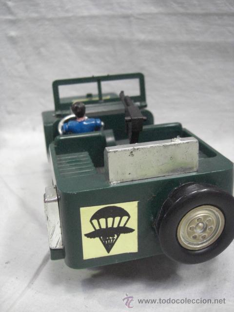 Juguetes antiguos: Jeep tracción 4 ruedas. Policía Armada. Nacoral. - Foto 4 - 26942283