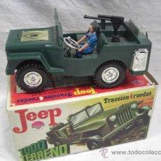 Jeep tracción 4 ruedas. Policía Armada. Nacoral.
