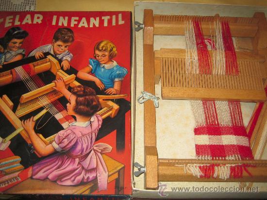 INVICTA - ANTIGUO TELAR INFANTIL - AÑOS 50 - - VER FOTOS (Juguetes - Marcas Clasicas - Otras Marcas)