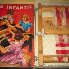 Juguetes antiguos: INVICTA - ANTIGUO TELAR INFANTIL - AÑOS 50 - - VER FOTOS. Lote 24944811