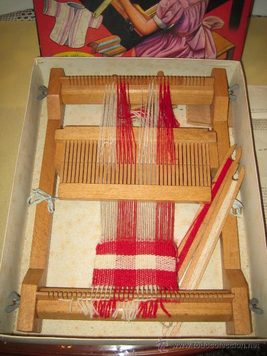 Juguetes antiguos: INVICTA - ANTIGUO TELAR INFANTIL - AÑOS 50 - - VER FOTOS - Foto 6 - 24944811