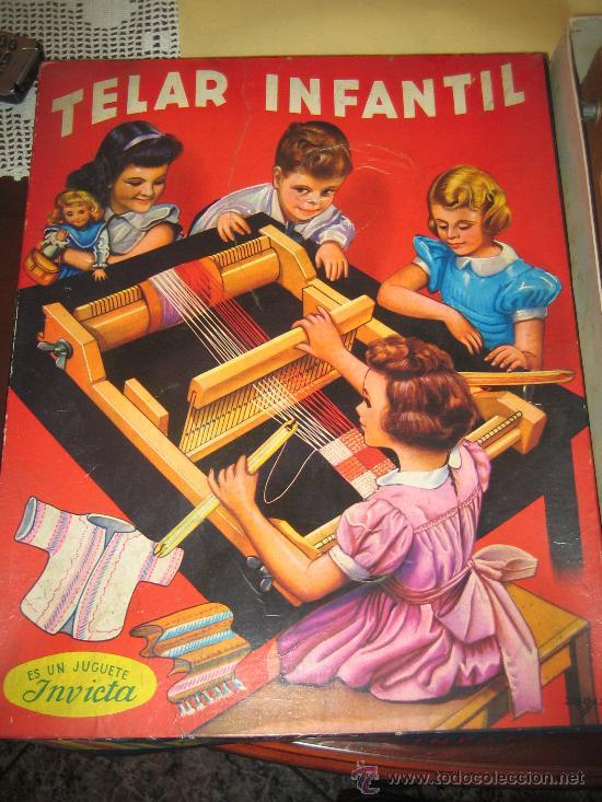 Juguetes antiguos: INVICTA - ANTIGUO TELAR INFANTIL - AÑOS 50 - - VER FOTOS - Foto 5 - 24944811