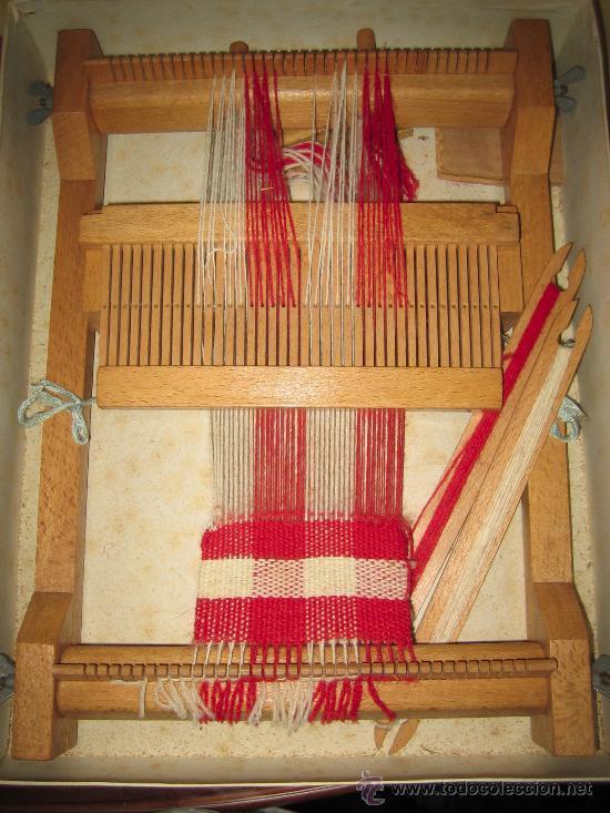 Juguetes antiguos: INVICTA - ANTIGUO TELAR INFANTIL - AÑOS 50 - - VER FOTOS - Foto 2 - 24944811