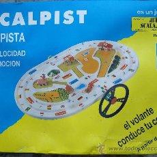 Giocattoli antichi: CIRCUITO SCALPIST DE SCALA. Lote 26558249
