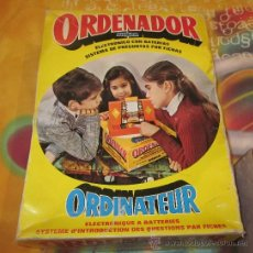 Juguetes antiguos: ORDENADOR AIRGAM,CAJA ORIGINAL,FUNCIONANDO. Lote 25920589