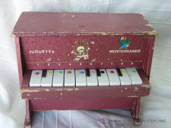 PIANO EN MADERA MEDITERRANEO (Juguetes - Marcas Clasicas - Otras Marcas)