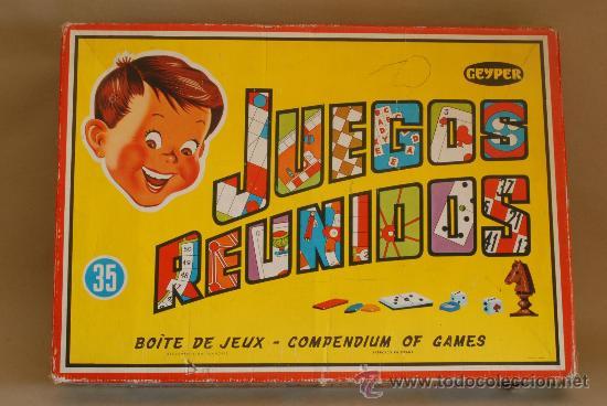 Juegos Reunidos Geyper 35 Incompleto Comprar Juguetes Antiguos
