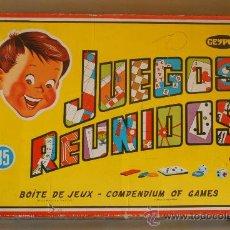 Juguetes antiguos: JUEGOS REUNIDOS GEYPER. 35. INCOMPLETO.. Lote 28037336