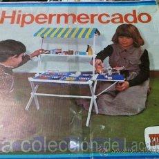 Juguetes antiguos: HIPERMECADO EUREKA AÑOS 70-80. Lote 28233803
