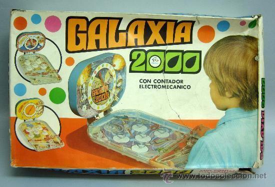 PIN BALL PINBALL GALAXIA 2000 ESPACIAL RIMA AÑOS 60 (Juguetes - Marcas Clasicas - Otras Marcas)