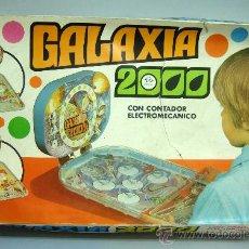 Juguetes antiguos: PIN BALL PINBALL GALAXIA 2000 ESPACIAL RIMA AÑOS 60. Lote 28687943