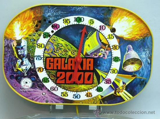 Juguetes antiguos: Pin Ball Pinball Galaxia 2000 espacial Rima años 60 - Foto 4 - 28687943