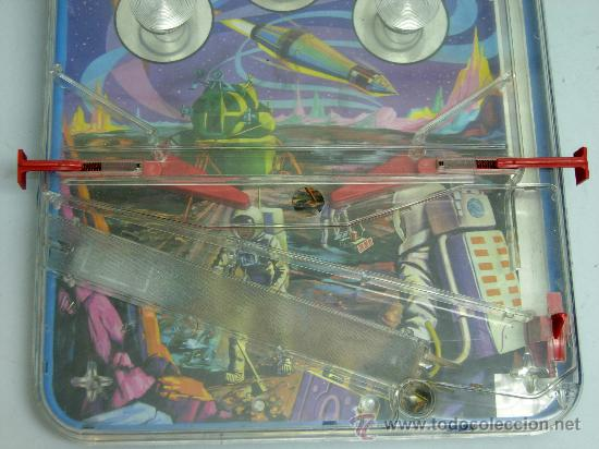 Juguetes antiguos: Pin Ball Pinball Galaxia 2000 espacial Rima años 60 - Foto 7 - 28687943