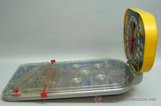 Juguetes antiguos: Pin Ball Pinball Galaxia 2000 espacial Rima años 60 - Foto 8 - 28687943