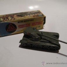 Juguetes antiguos: TANQUE AMX 13 FRANCIA - MARCA EKO - AÑOS 60 - CON CAJA. Lote 29556403