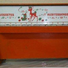 Juguetes antiguos: PIANO JUGUETES MEDITERRANEO . Lote 30124205