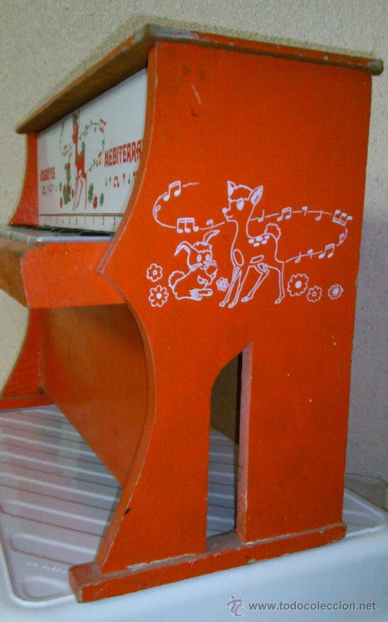 Juguetes antiguos: PIANO JUGUETES MEDITERRANEO - Foto 4 - 30124205