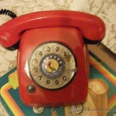 Juguetes antiguos: TELEFONO DE JUGUETE RIMA HERALDO AÑOS 70 A ESTRENAR . Lote 30516427