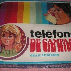 Juguetes antiguos: TELEFONO DE CAMPAÑA RIMA - SET FEMENINO ( AUTENTICA RAREZA ). Lote 30594004