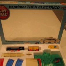 Juguetes antiguos: TU PRIMER TREN ELECTRICO DE GEYPER. Lote 30794227