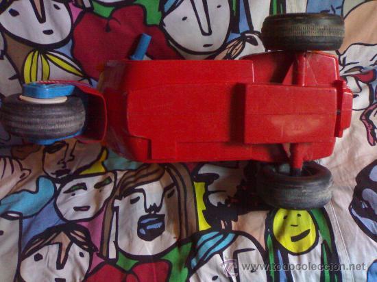 Juguetes antiguos: preciosa vespa scooter de feber roja funciona con 8 pilas gruesas años 70 80 de las primeras - Foto 5 - 146058426
