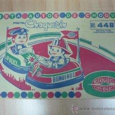 Juguetes antiguos: PISTA DEL CHOQUETIN DE JUGUETES BERNABEU. Lote 32009936