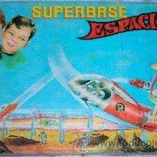 Juguetes antiguos: --SUPERBASE ESPACIAL(+ REGALO )-SUPER BASE ESPACIAL-BREKAR 1960 -SPACE TOYS.. Lote 32294166