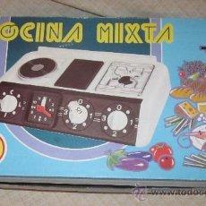 Juguetes antiguos: COCINA MIXTA DE PSE,CAJA ORIGINAL,AÑOS 70 U 80. Lote 33428525